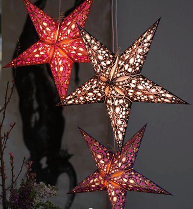 Etoiles papier - Deco Noel - Art'Air