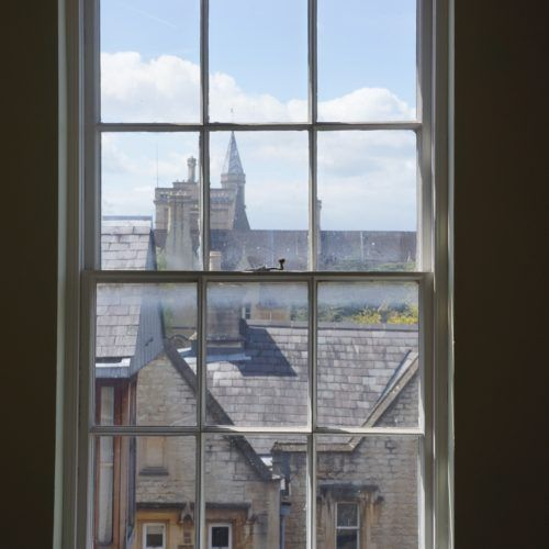 Oxford From A Dorm Window