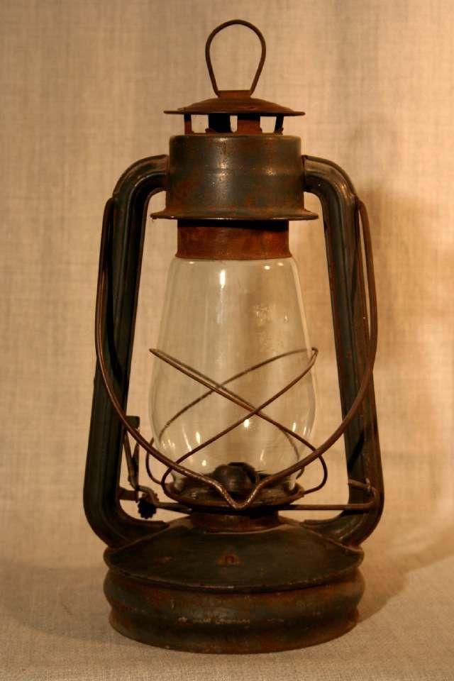 Советские керосиновые лампы