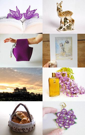 Purple Spring by Buy ititaly on Etsy--Pinned with TreasuryPin.com