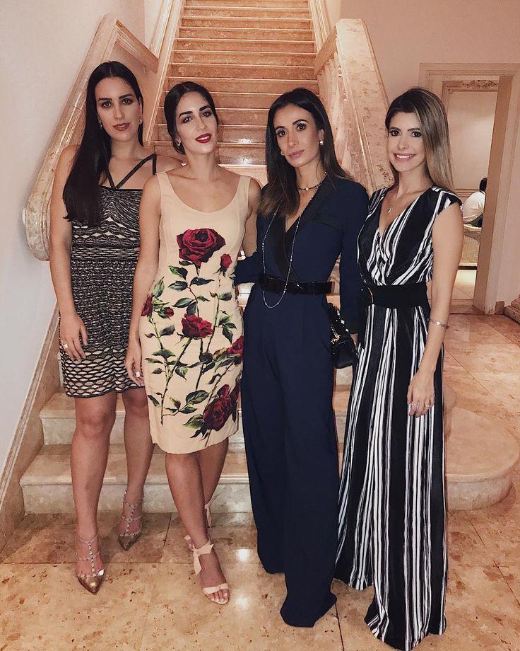 """Do """"Minas Trend"""" direto para o jantar oferecido pelas lindas @andressakhouri @bakhouri e @manutouma na cidade que amo Londrina Tudo impecável meninas amei a companhia e a noite! Vocês arrasaram na recepção né @silviabraz?"""