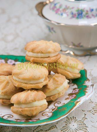 Βιεννέζικα μπισκότα  με πορτοκάλι