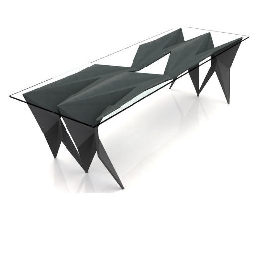Arktura Stealth Coffee Table...  looks like an origami table