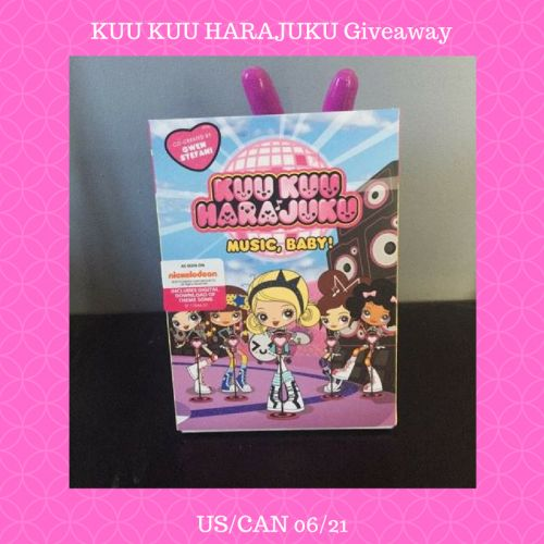 KUU KUU HARAJUKU DVD Giveaway - Basically Speaking