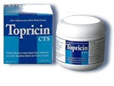 Topricin cream.  Keep it in your gym bag,take it with you on bike rides and vacations..  Topricin, Anti-inflammatory Pain Relief and Healing Cream