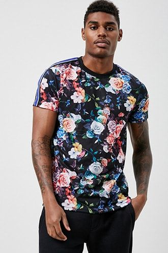 73e65522aa Drill Clothing Floral Graphic Tee 21men