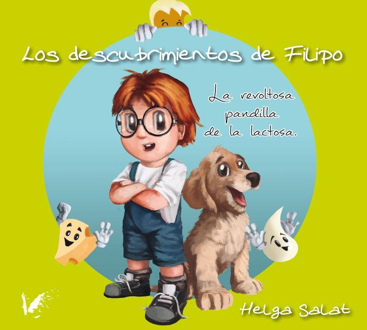 """""""Los descubrimientos de Filipo""""  nuestro primer cuento infantil"""