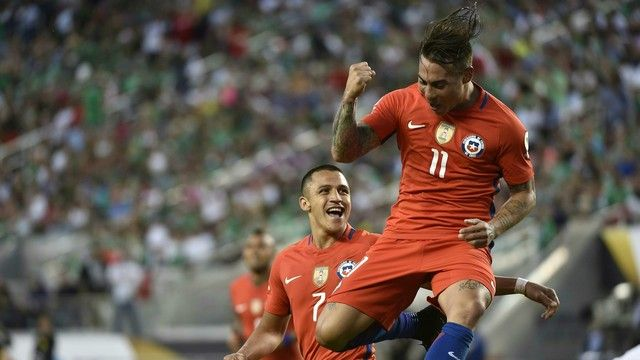 Eduardo Vargas for Chile #CopaAmerica2016