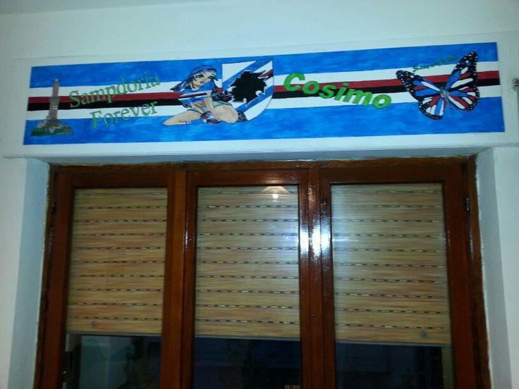 Pannello per tapparelle Sampdoria
