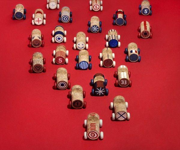 wine cork cars