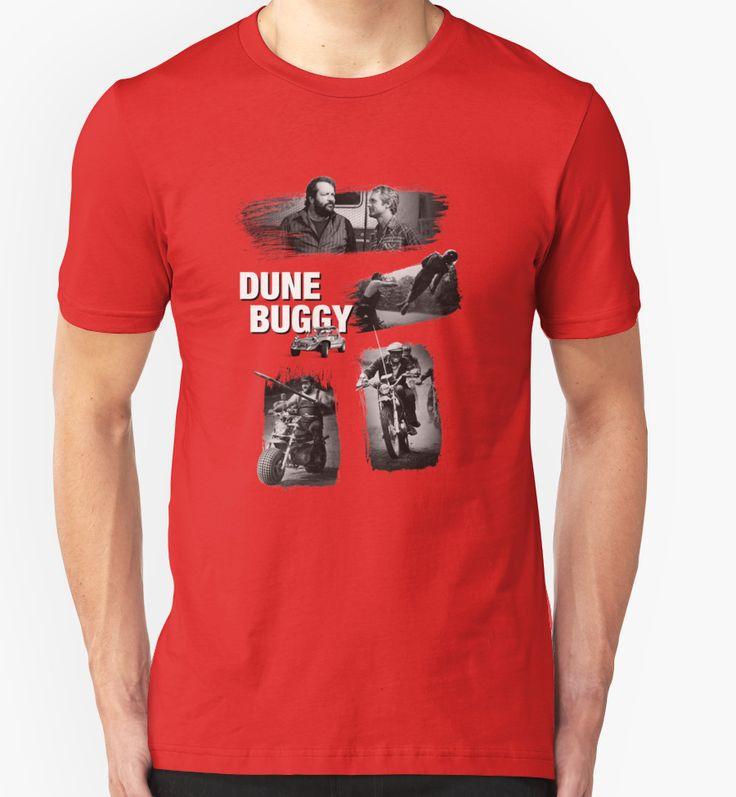 Dune Buggy - Bud Spencer Terence Hill altrimenti ci arrabbiamo, zwei wie pech und schwefel, film movie cinema iatlian comedy italy, watch out were mad, funny trinity oliver onions T-Shirt Design von adriangemmel