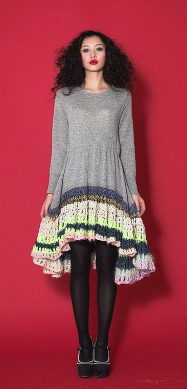 Beautiful #Crochet From Fashion Designer CeliaB