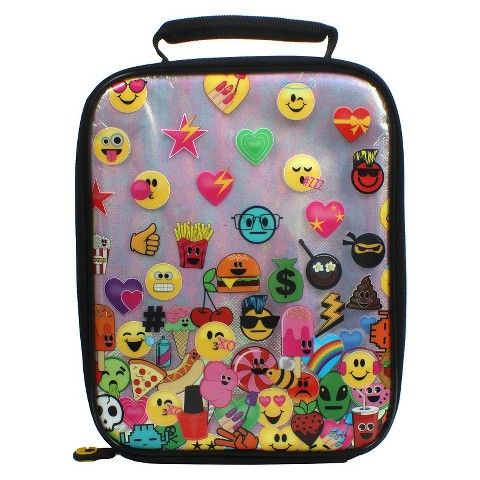 EmojiNation Emo Ombre Insulated Lunch Bag