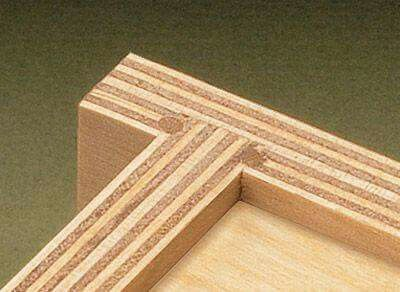Lock joint working dowels