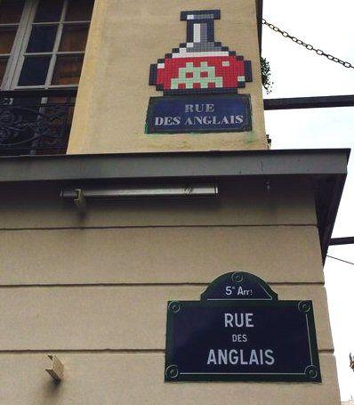 La rue des Anglais  (Paris 5ème)