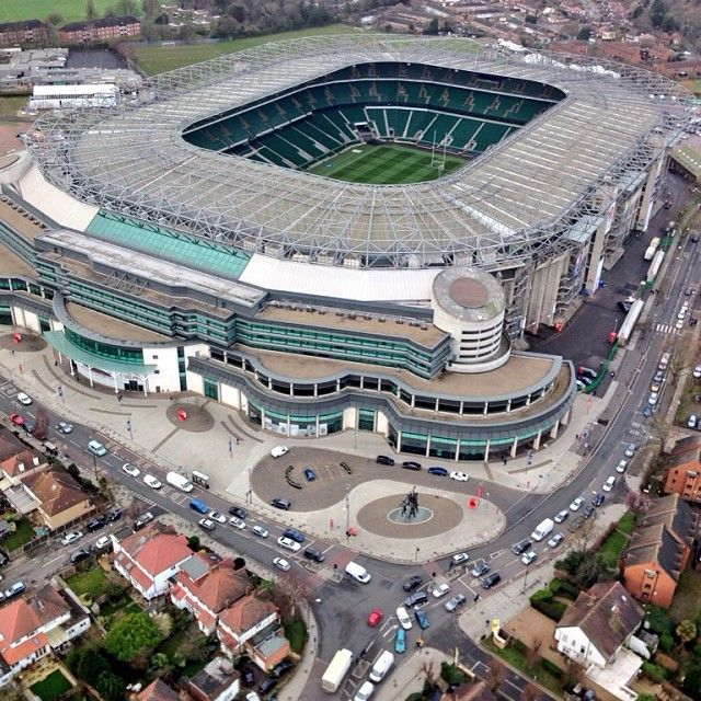 Twickenham Stadium #sixnations #rugby #england #ireland #rfu @rbs_6_nations #london