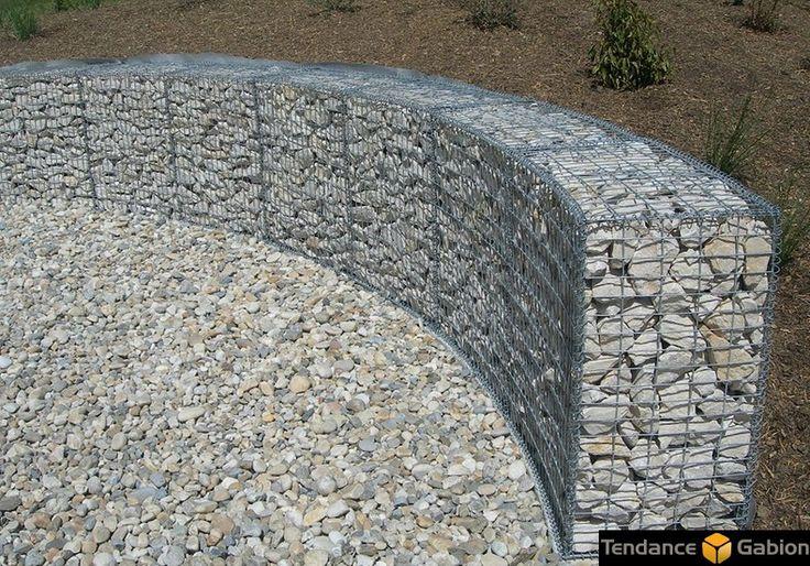 109 best images about rock fence building on pinterest planters construction and gabion cages. Black Bedroom Furniture Sets. Home Design Ideas