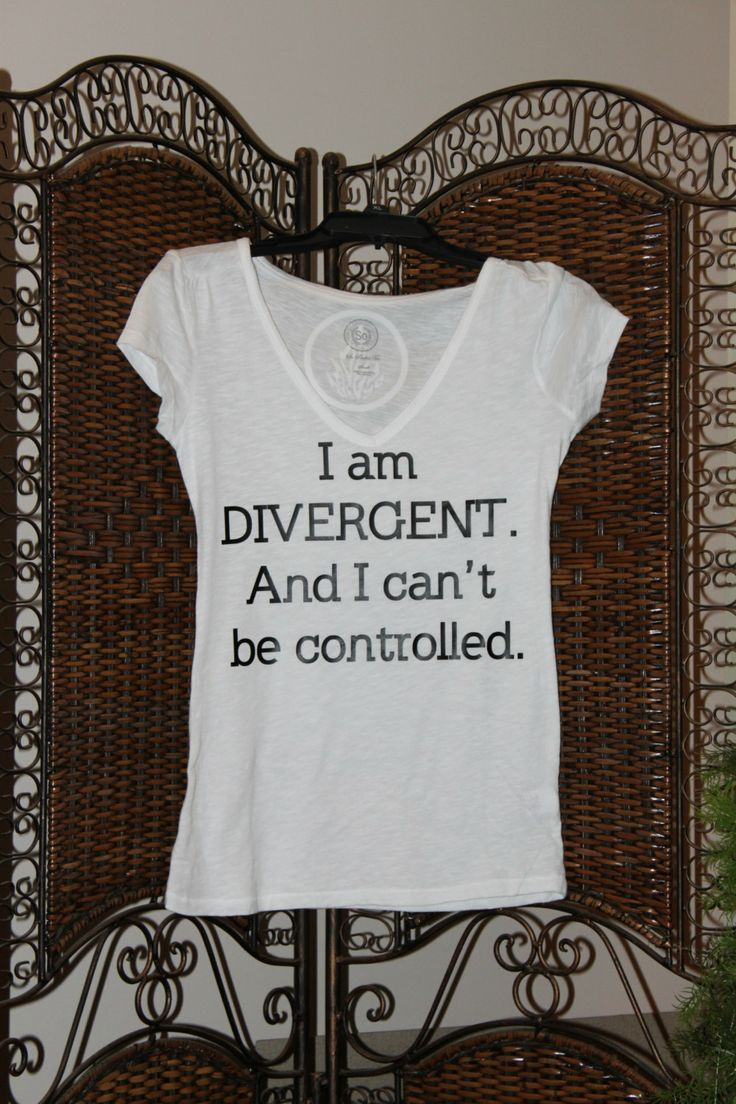 Divergent Inspired Tshirt with 5 Factions on the by PaintNPrintz, $28.00