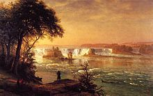 Bierstadt Albert The Falls of St. Anthony - Saint Anthony Falls - Wikipedia, the free encyclopedia