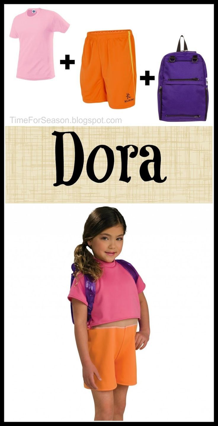 Easy Dora Costume: 18 Costumes You Already Have In Your Closet!