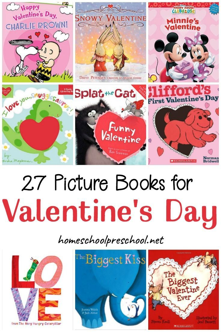 This Valentine's Day, snuggle up with your preschoolers and read one or more of these Valentines books! There are lots of fun picture books to discover on this list! #valentinesday #valentinesbooks #booksforkids #preschoolbooks    https://homeschoolpreschool.net/valentines-day-books-preschoolers/