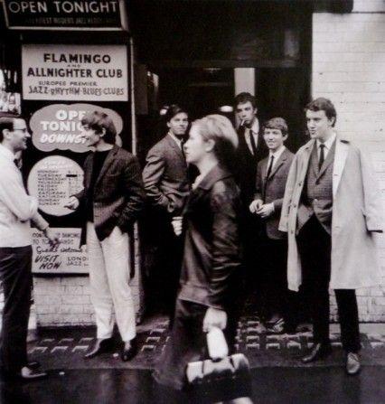 Flamingo Jazz Club, Soho, London, England, United Kingdom, 1964, photograph by Jeremy Fletcher.
