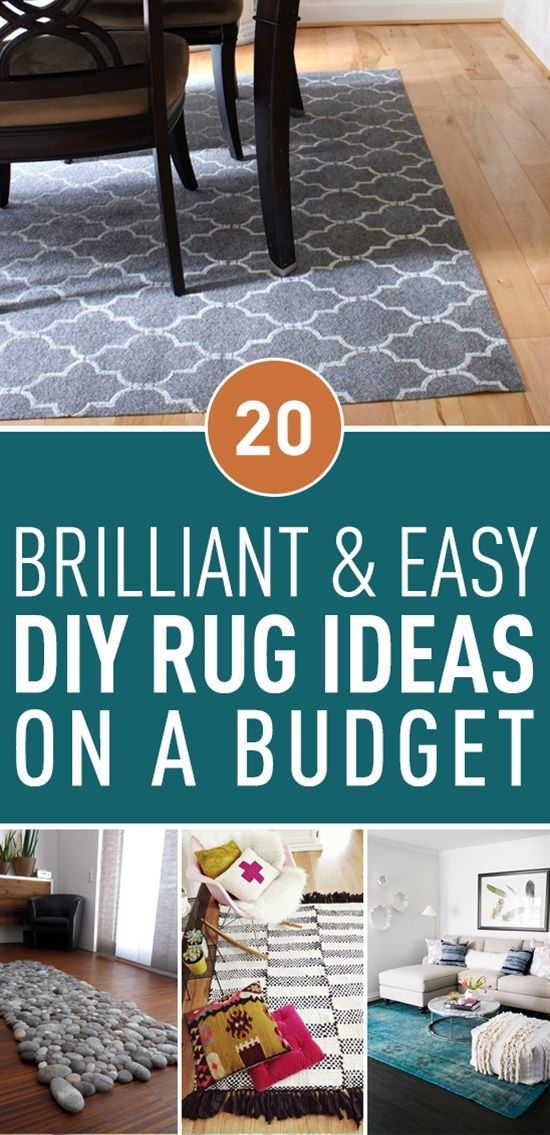 Rugs, mats and floor runners are such an important part of home decor.! Here are the most creative DIY Rug