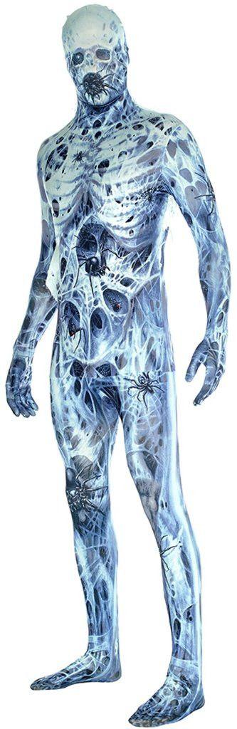 arachnomania adult morphsuit costume m