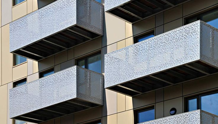 images balconies with perforated metal - Google Search
