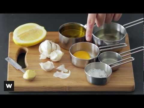 Learn how to make aioli from scratch with our easy how-to vid :) Visit www.woolworths.co.za/thepantry for more delicious recipes.