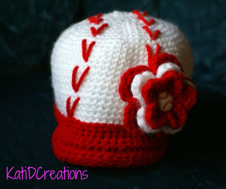 Free Crochet Pattern for Baseball Cap