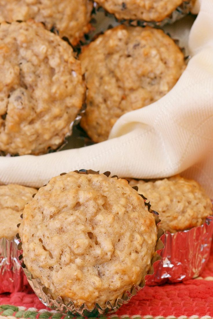 Weight Watchers Apple Oatmeal Muffins Recipe
