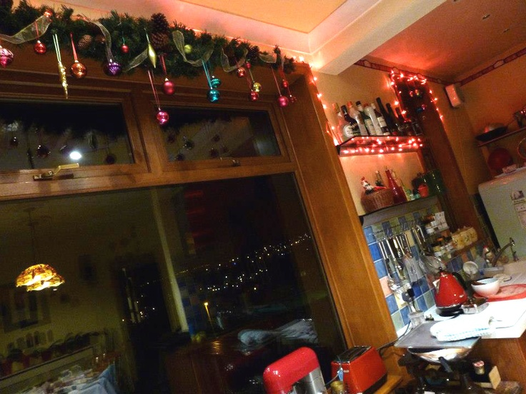 Our dining/kitchen Christmas 2012