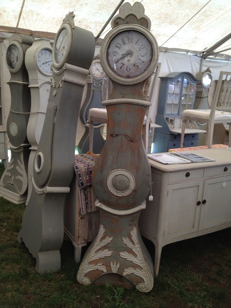 Antique Swedish Clocks. Lone Ranger Antiques.