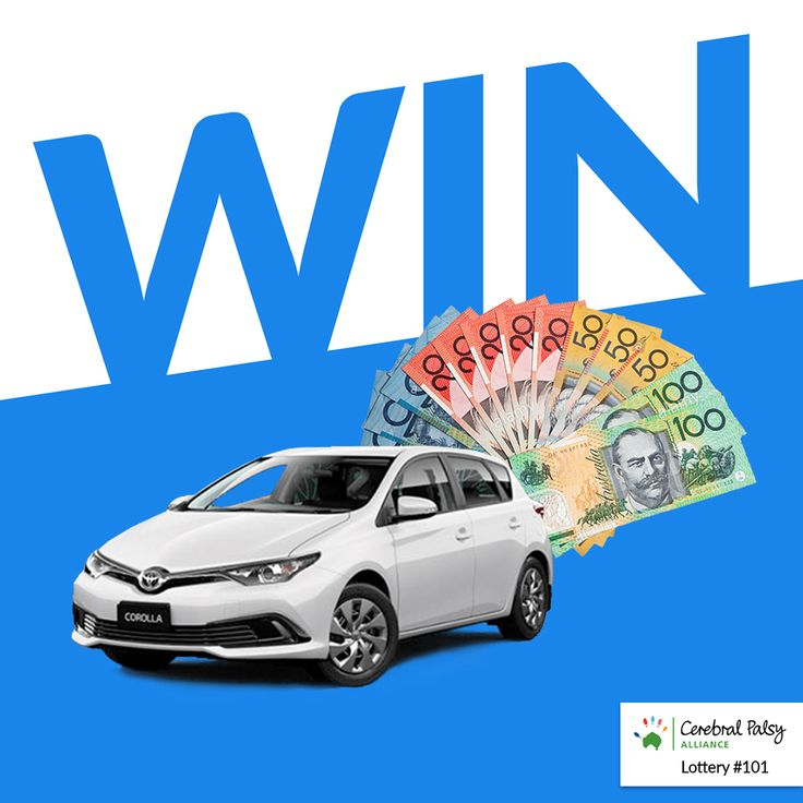 WIN $20,000 in Cash or WIN a Toyota Corolla Ascent  Cerebral Palsy Alliance Lottery #101