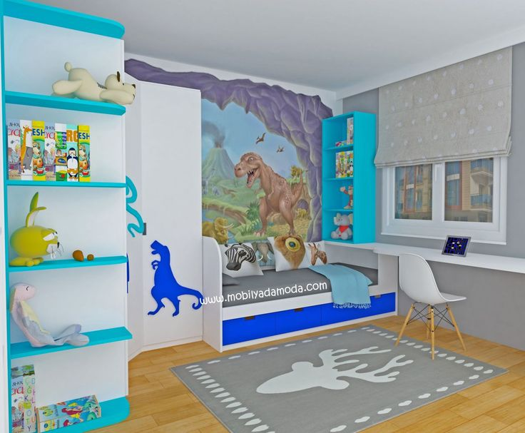 Dinazor Temalı Çocuk Odası