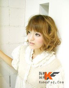 Digital Perm Pictures and Information: Japanese Perm on Short Hair