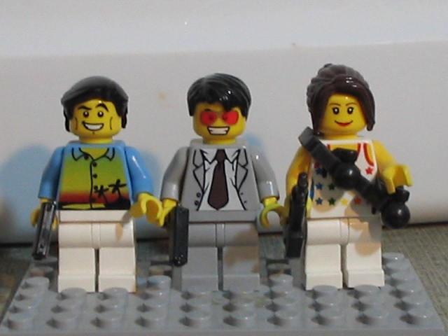 Burn Notice Lego Style  ^_^