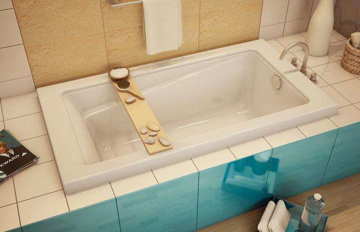 Loft 6032 Alcove or Drop-in bathtub - Keystone by MAAX