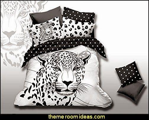 White tiger bedroom decor