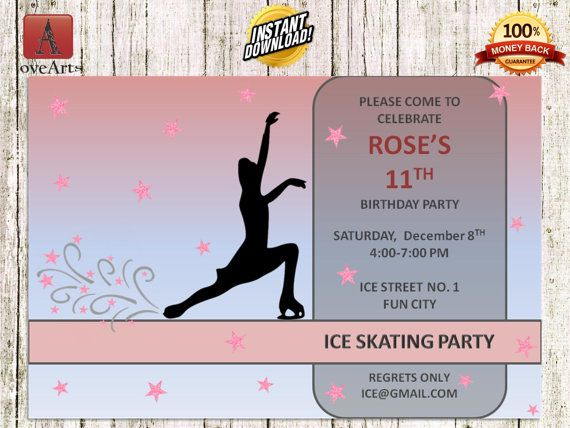 Hey, I found this really awesome Etsy listing at https://www.etsy.com/listing/248928274/instant-download-ice-skating-invitation