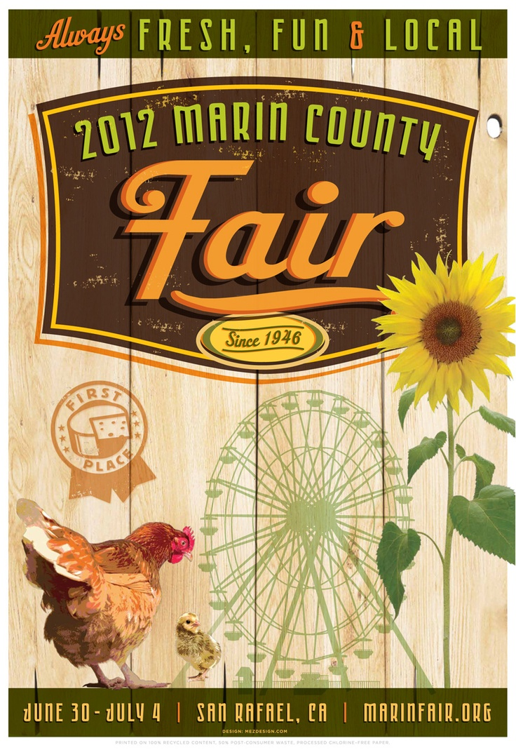 Love the Marin County Fair!!!!