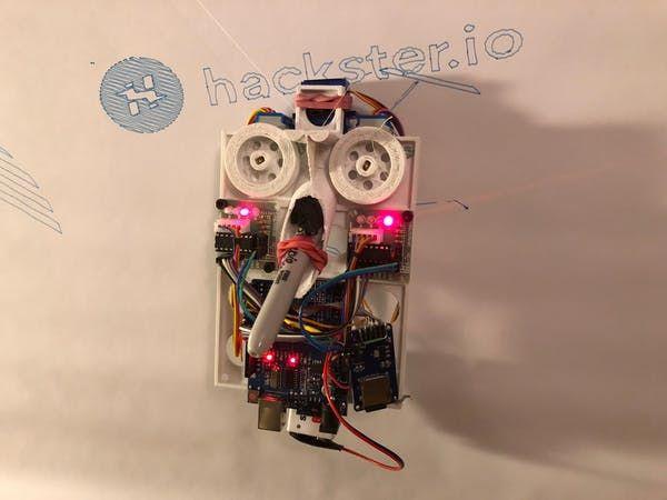 Stringent, the $15 Wall Plotter - Hackster io | Maker