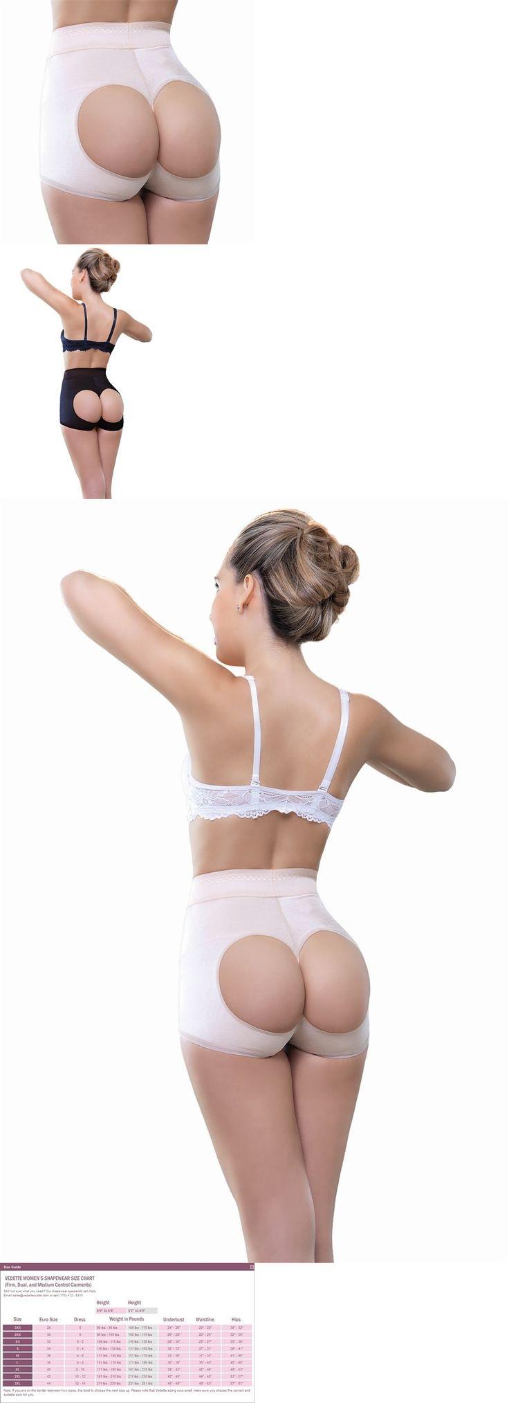 Corsets and Girdles 182051: Vedette 910 Joane High Waist Open Bottom Enhancer - Butt Lifter. -> BUY IT NOW ONLY: $31.99 on eBay!