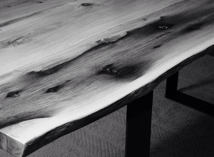 Contemporary oak table