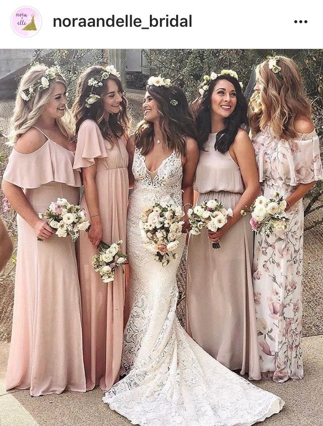 0d98a557853 Joanna August Boho inspired Bridesmaid Dresses. Stunning unique designs.