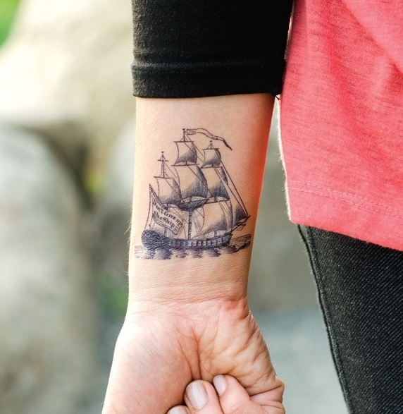 Sailboat Tattoo To Cute Ideas Pinterest Pirates Ship