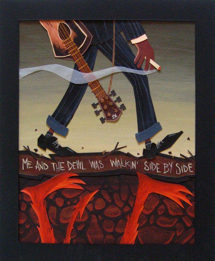 "Robert Johnson, ""Me and the Devil Blues"""
