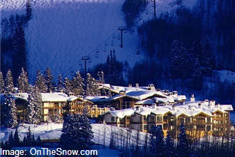 Dying to go skiing in Utah.  This is Park City.
