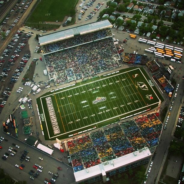 Regina...formerly Taylor Field. Now Mosaic Stadium